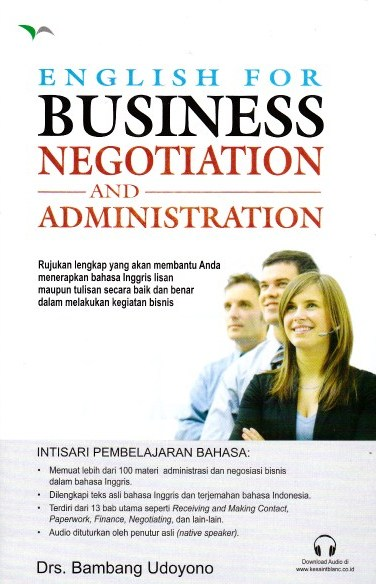 English for Business -  Negotiations and Administration