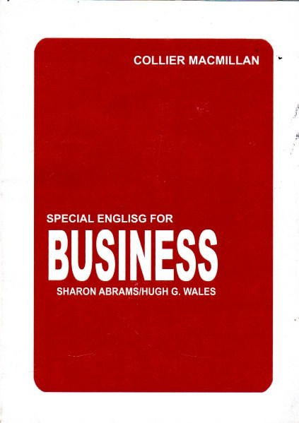 Special English for Business